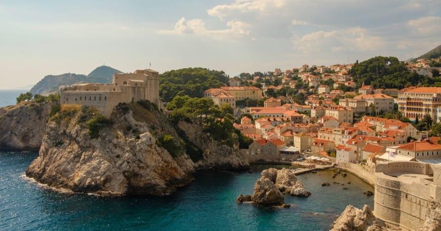 A horvát élő szerencsejáték-jelenet