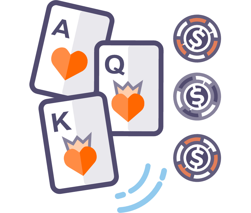 Játssz Live Three Card Poker-et