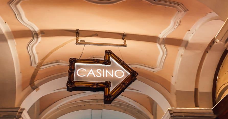 Szerencsejáték élő kaszinóban